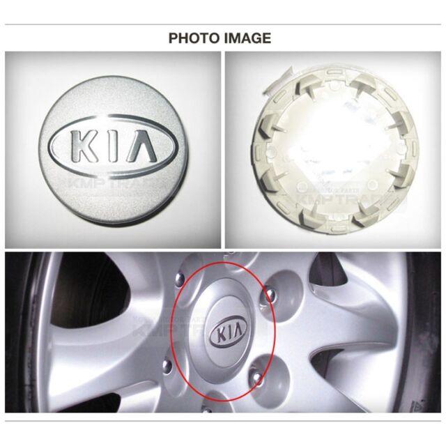 Kia Soul 2008-2009 OEM Genuine Wheel Center Hub Cap 4pc 529601F610