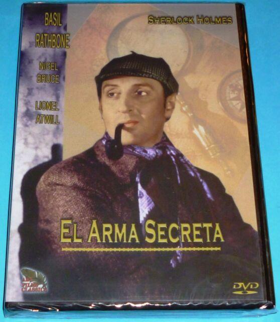 EL ARMA SECRETA / Sherlock Holmes - Basil Rathbone - Precintada