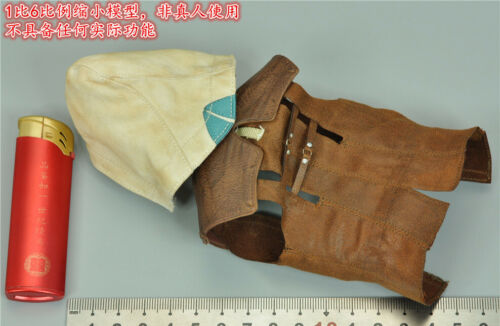 """DAMTOYS DMS003 1//6 Assassin/'s Creed Edward Kenway vest with hat F12/"""" Action"""