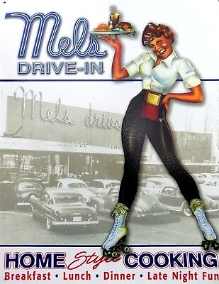 15 11/16x11 13/16in High Standard In Quality And Hygiene Collectibles Plate Metal Vintage Pin Up Mels Drive In