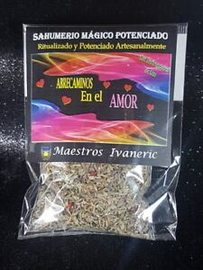 """""""ABRECAMINOS EN EL AMOR"""" SAHUMERIO RITUALIZADO 15gr /OPEN ROADS IN LOVE - Ritual"""