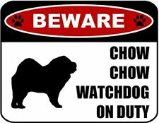 Beware Goldendoodle Watchdog On Duty Dog Sign SP1319
