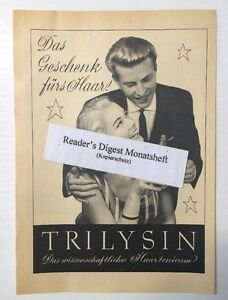 Ad/Advertisement a5: trilysin haartonicum 1957 (130616286)