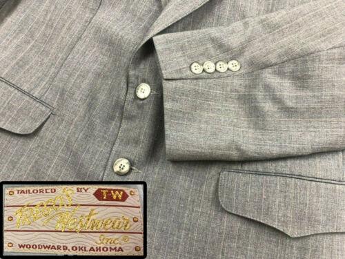 VTG Tregos Westwear WESTERN Sport Coat Blazer Pin