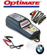 NEW OPTIMATE 4 CANbus BMW MOTORCYCLE READY BATTERY CHARGER & TESTER