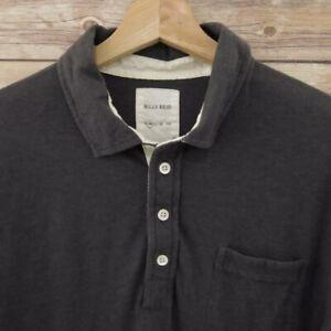 Billy-Reid-Mens-Polo-Shirt-Size-M-Short-Sleeve