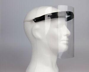 Kopfband Gesichtsschutz Klarvisier Schutzhaube Visier Schutzschild