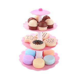 Bambini-bambini-torta-dolci-dessert-Torre-Tea-Set-Finger-e-giocare-Giocattoli-Di