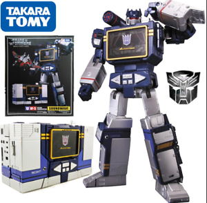 Transformers Masterpiece MP-13 Soundwave Destron Communication MP13 Figure KO