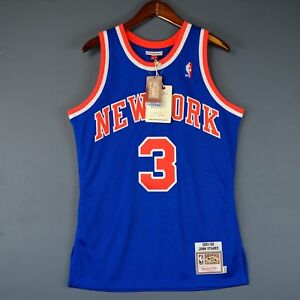 meet 52fe8 33169 100% Authentic John Starks Mitchell & Ness 91 92 Knicks ...