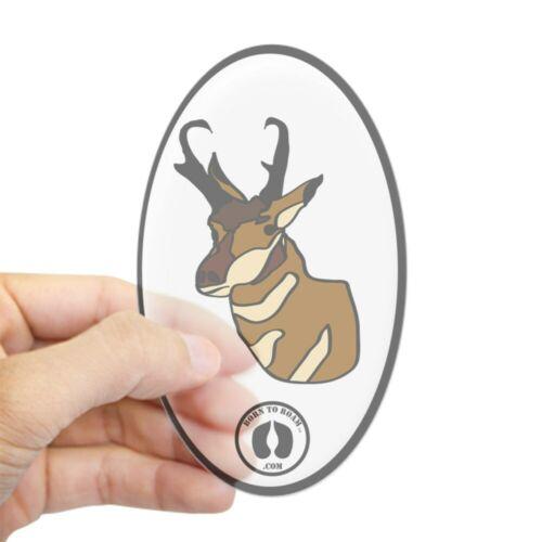 Oval 2012263889 CafePress Pronghorn Sticker Sticker