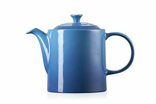 1.3 Litres Marseille Blue Serves 4 Cups Le Creuset Stoneware Grand Teapot