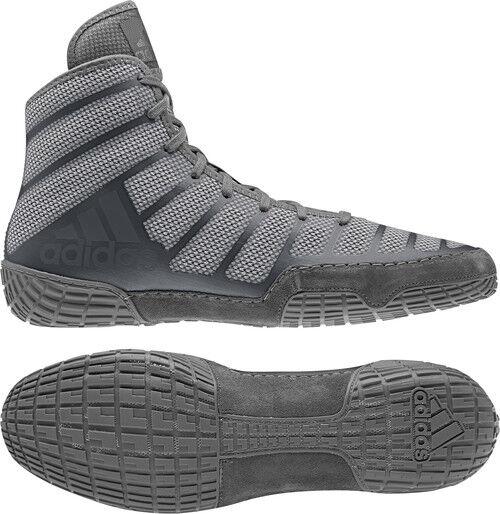 Adidas AdiZero Varner 2 gris Onyx Para hombres Zapatos adultos zapatos de lucha o boxeo