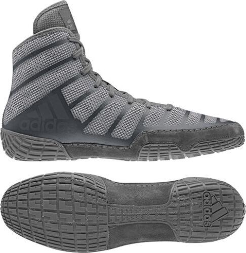 Adidas AdiZero Varner 2 Gray Onyx Men/'s Wrestling or Boxing Shoes Adult Shoes