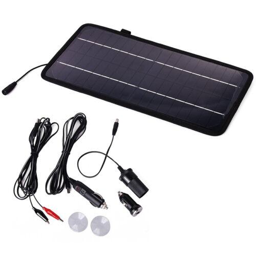 12 V 4.5 W Panneau Solaire Batterie Mainteneur Chargeur Trickle Alimenté voiture auto bateau