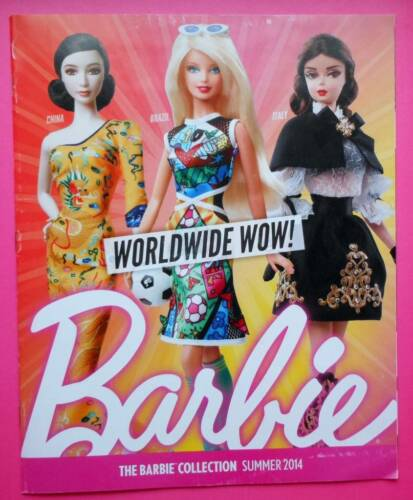 Barbie Collection Summer 2014 Catalogue//Catalog~New