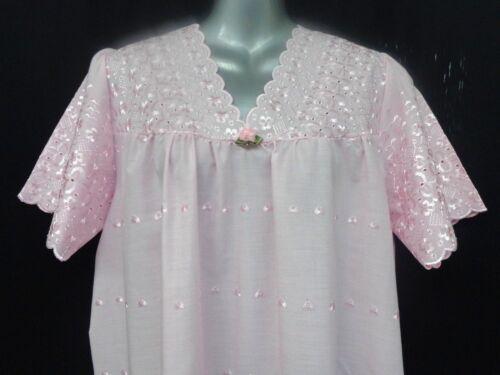 Chemise de nuit ** Le Moins Cher Sur  ** £ 8.60 Allover Brodé 100/% Coton