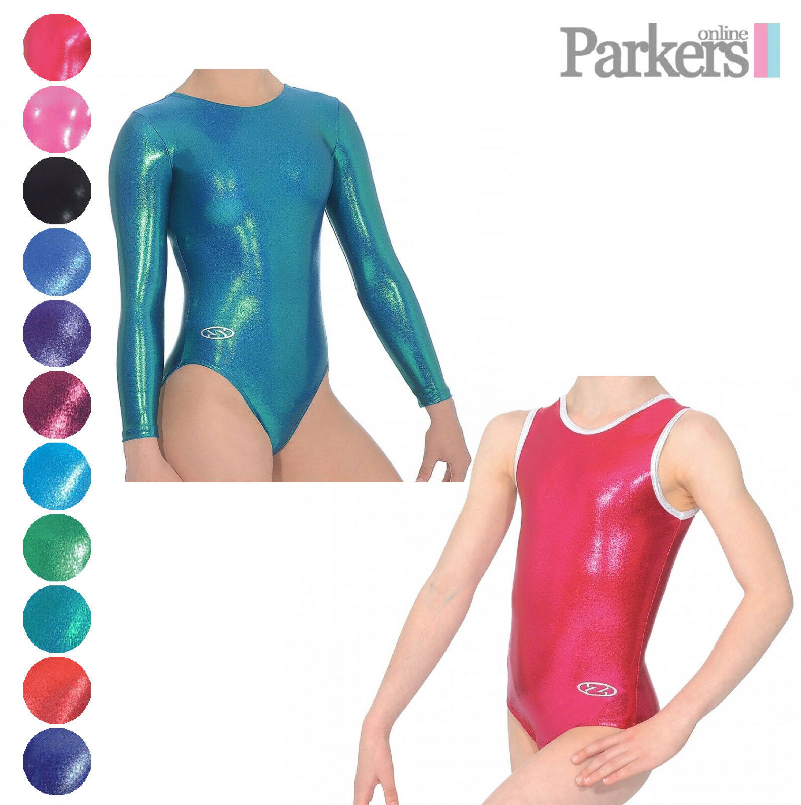 BRAND NEW ZONE GLAM SLEEVELESS LONG SLEEVE LEOTARD DANCE  GYMNASTICS SIZE 24-38  manufacturers direct supply
