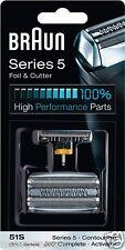 Braun Kombipack 51S/ Series 5 590cc, 570cc, 560, 550, 530, 510, Activator/Contou