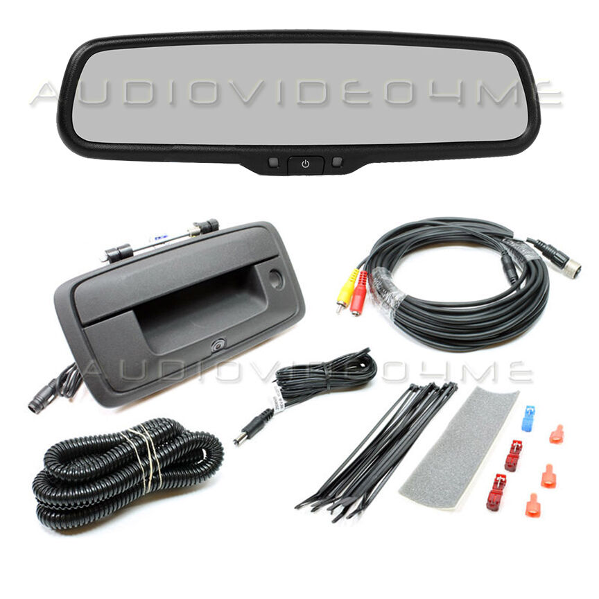 Rearview Mirror W  Monitor Backup Camera For 2014