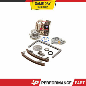 Details about Timing Chain Kit Water Oil Pump for 00-06 Toyota Corolla  Celica GTS Matrix 2ZZGE