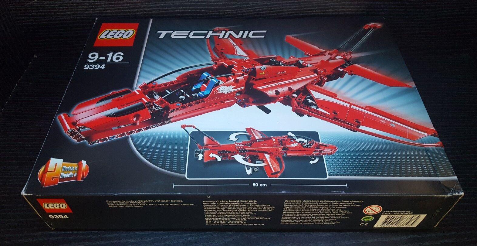 LEGO  lot technic n°9394 JET PLANE complet avec notice et boite