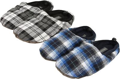 Para Hombres Invierno Cálido Zapatillas De Peluche Peluche de zapato de interior cómodo acogedor pavos reales