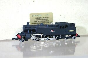GRAHAM-FARISH-KIT-BUILT-SKYTREX-BR-4-6-2-STANIER-CLASS-4P-TANK-LOCO-42590-mz