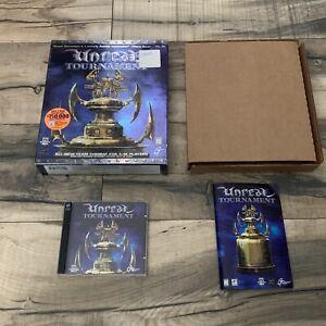 Unreal Tournament 1999 PC Game  Big Box Epic Original Release Rare!