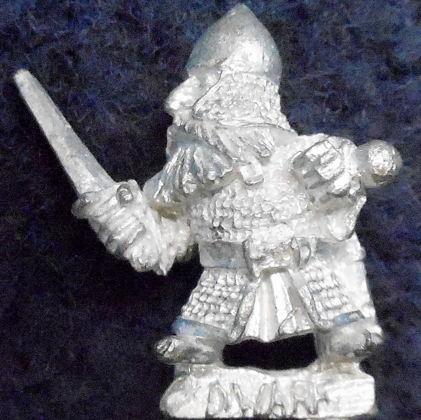 1985 nain me33 épée alternative 3 Le Seigneur des Anneaux Citadelle variante l'usage LOTR