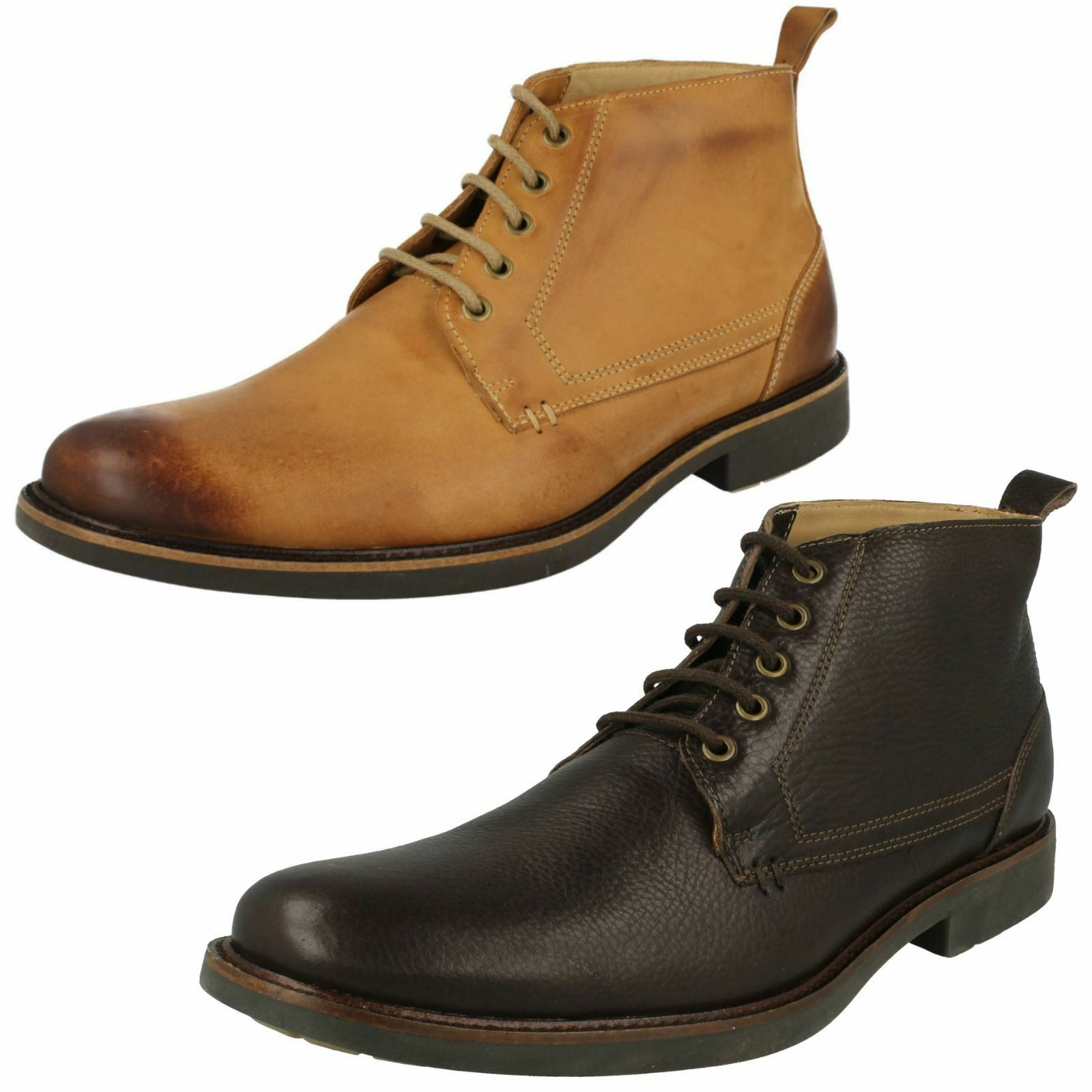 Mens Anatomic Smart Formal Ankle Boots Pedras