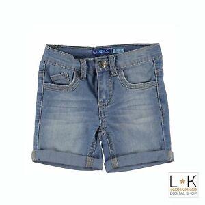 Bermuda-di-Jeans-in-Cotone-Bambino-Denim-Sarabanda-Q537