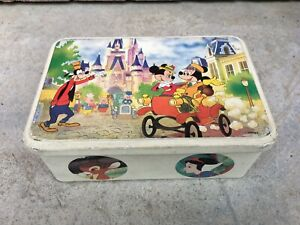 ANCIENNE-BOITE-METAL-MASILLY-FRANCE-DECOR-PERSONNAGES-DISNEY