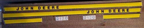John Deere 2120 tractor hood decal set