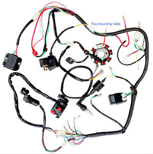 s l300 complete electrics atv quad 200cc 250cc cdi wire harness zongshen 200cc chinese atv wiring harness at reclaimingppi.co