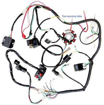 complete electrics wiring harness chinese dirt bike 150-250cc  zongshen,loncin ys | ebay  ebay