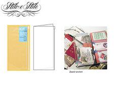 Midori Zipper Pocket | Refill Midori 008 | Traveler's Notebook Regular Size