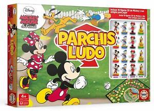 Educa-18343-Parchis-Ludo-de-Mickey-Mouse-amp-Friends-De-2-a-4-jg-Mas-de-4-anos