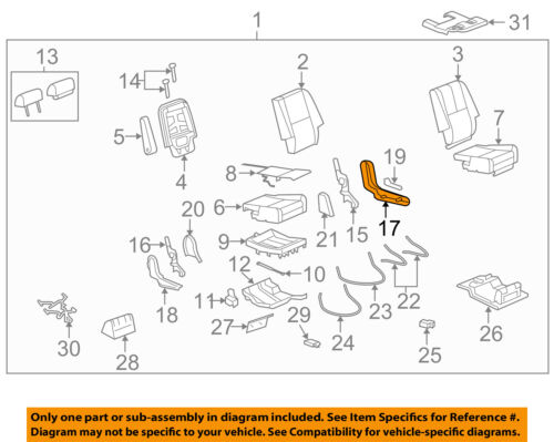 GM OEM Rear Seat-Outer Finish Panel Left 15279694