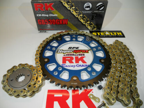 Suzuki GSXR1000 2001-06 Supersprox 520 GXW Extended QA Chain and Sprockets Kit