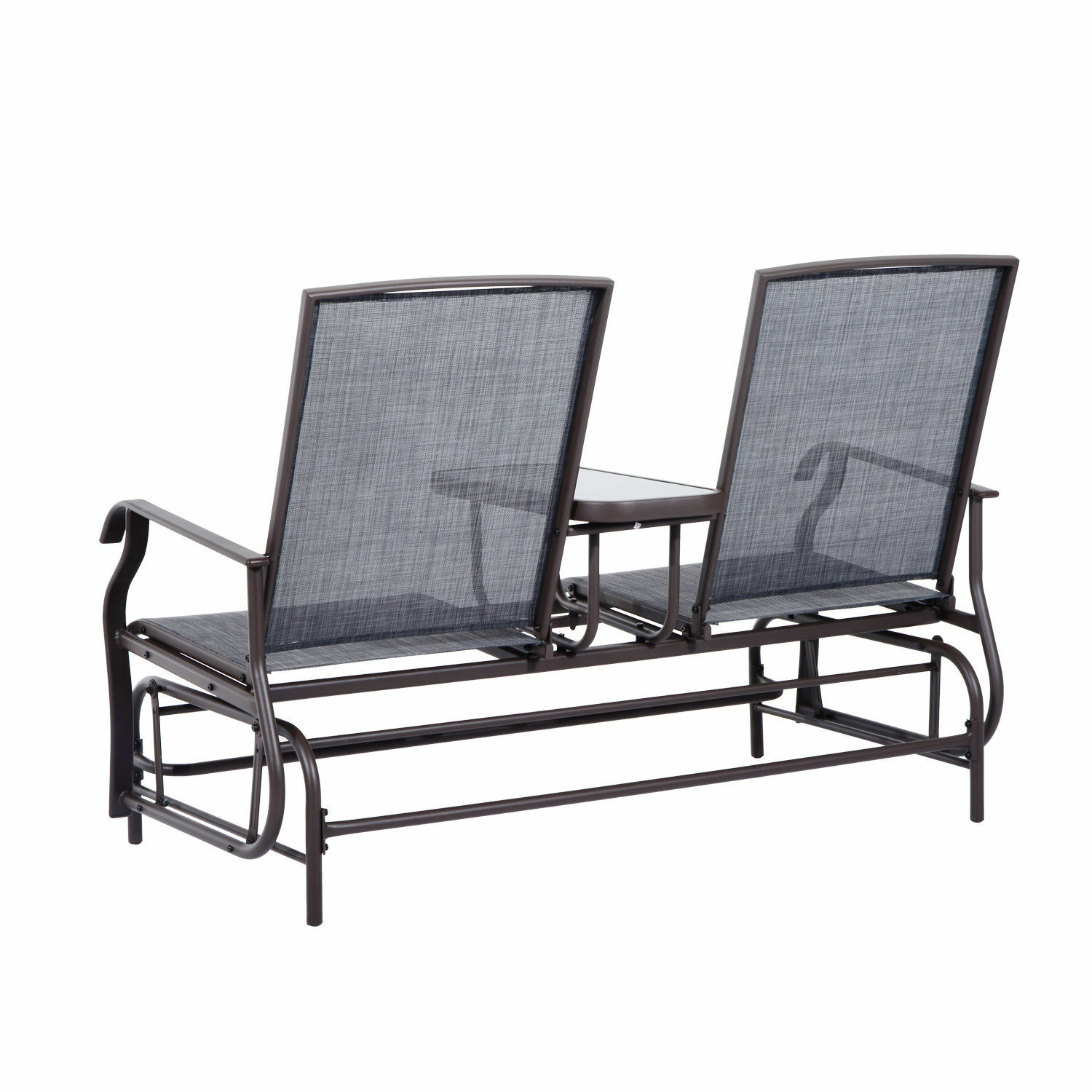 Patio glider rocking chair bench loveseat 2 person rocker deck outdoor furniture for sale online