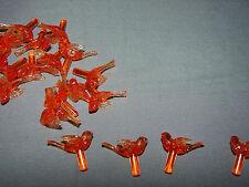Vintage NARCO Dove-Lites 25 MINI BULBS Ceramic Christmas Tree Lights-Orange-sm