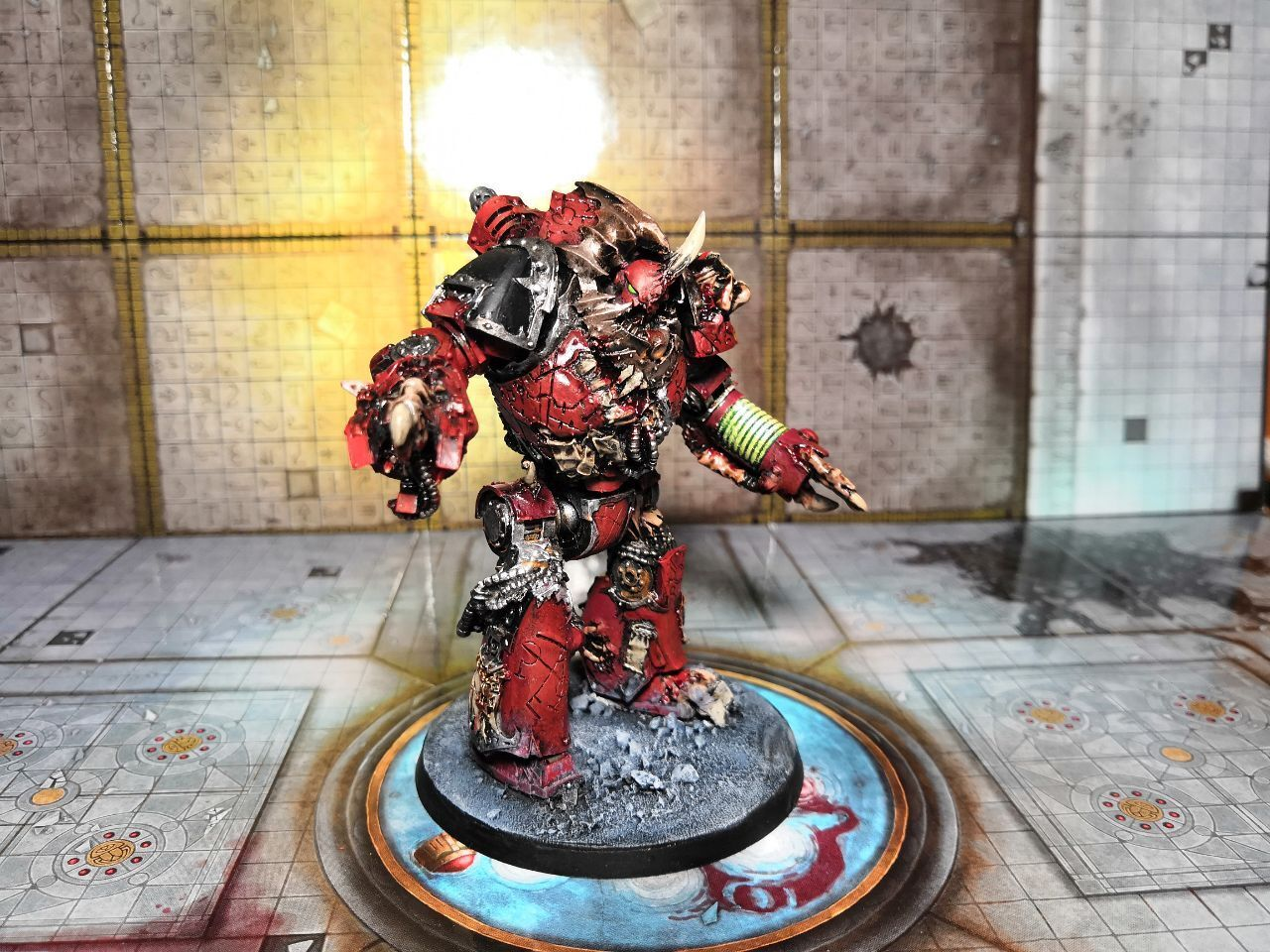 Word Bearers Mhara Gal Tainted Dreadnought painted Warhammer 40k