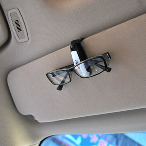 1PC Car Sunglasses Eyeglasses Glasses Ticket Holder Clamp Colorful Portable