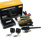 Compustar CS920-S 1000ft Range Two 1 Way Remote Start and Keyless Entry System