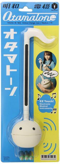 Otamatone Electronic Musical Instrument - White English Edition