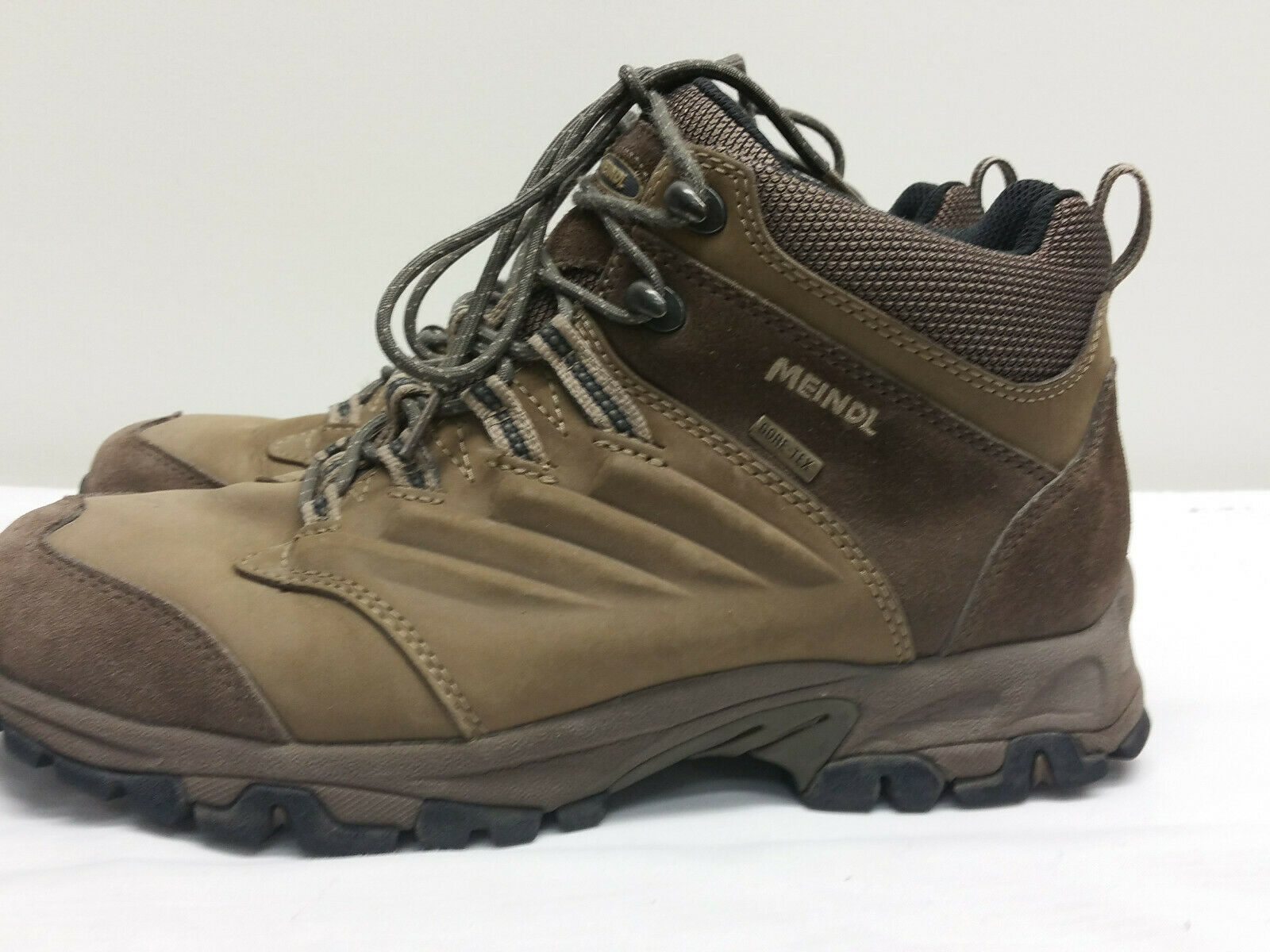 1682---MEINDL  AIR ACTIVE GORETEX UK 7,5  GR 41 STIEFEL LEDER BRAUN
