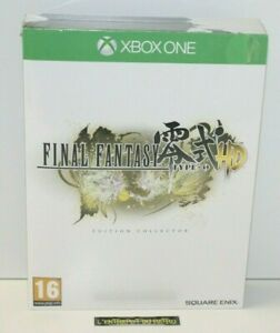 ++ jeu XBOX ONE FINAL FANTASY type-0 HD édition collector NEUF sous blister ++