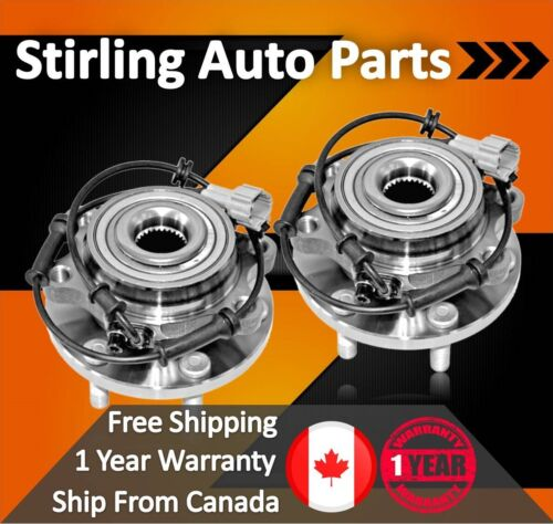 2005 For GMC Sierra 1500 Rear Wheel Bearing and Hub Assembly x2 6Stud 4WD//AWD