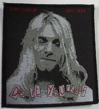 NIRVANA - Patch Aufnäher Kurt Cobain 10x10cm